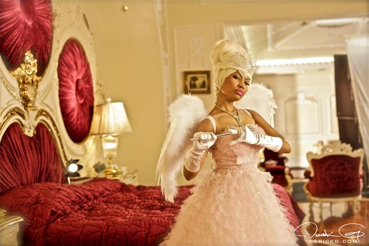 Nicki Minaj Prom Dress