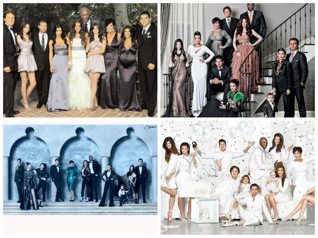 CELEB STYLE: The 2013 Kardashian Christmas Card – FABGLANCE