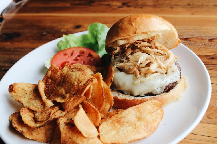 Black Hawk Farm Burger
