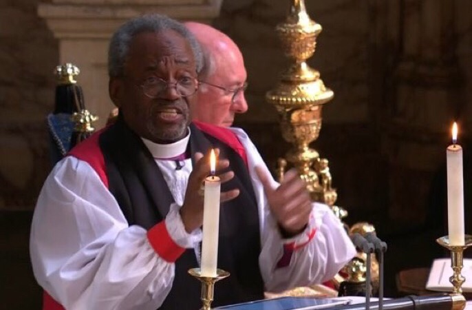 Bishop Curry - royalwedding