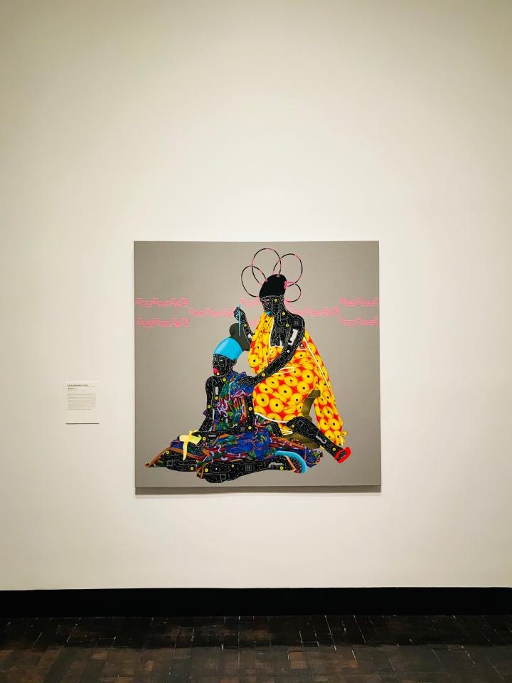 Eddy Kamuanga Llunga Painting