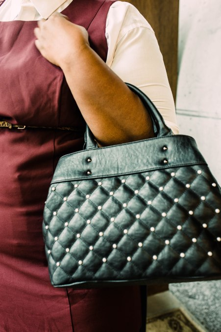 Pearl Quilted Bag