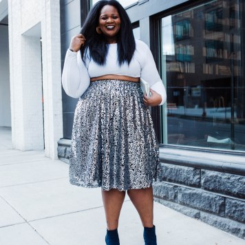 This sequin skirt is just perfect for NYE