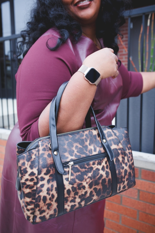 Animal Print Bags for Work / Fab Glance