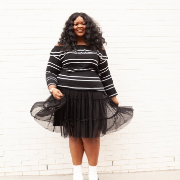 Spring Style / FAB GLANCE / Plus Size