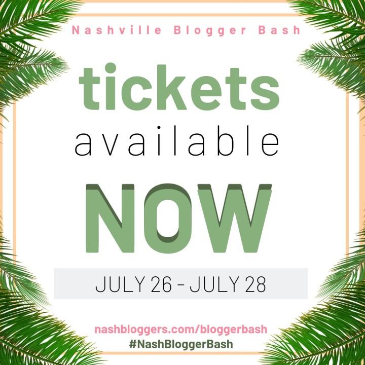 Nashville Blogger Bash 2019